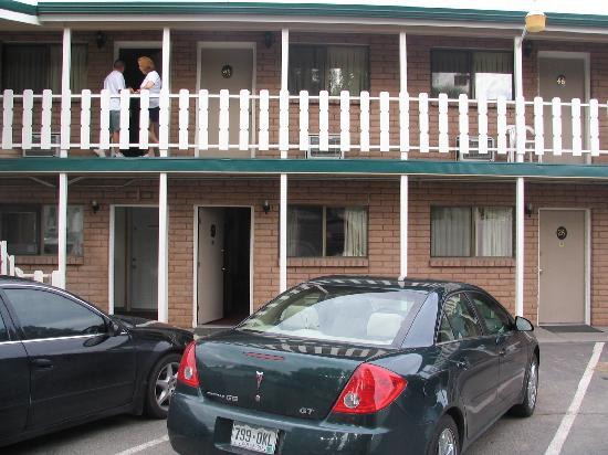 Rodeway Inn Delta: retro dell'hotel