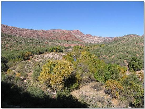 Verde Canyon Railroad: Another view from outdoor car