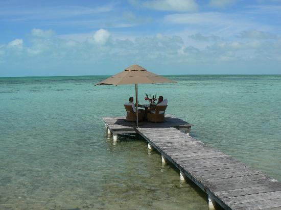 Cayo Espanto: Private Dock Luncheon