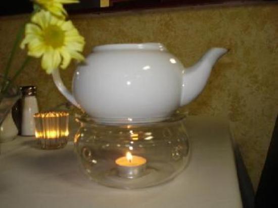 Hot Tea just melst the stress!