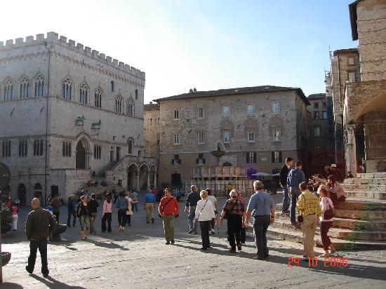 Sina Brufani: piazza