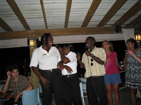 Alexandra Resort: Caribbean Night at the Orchid- Too Much Fun!