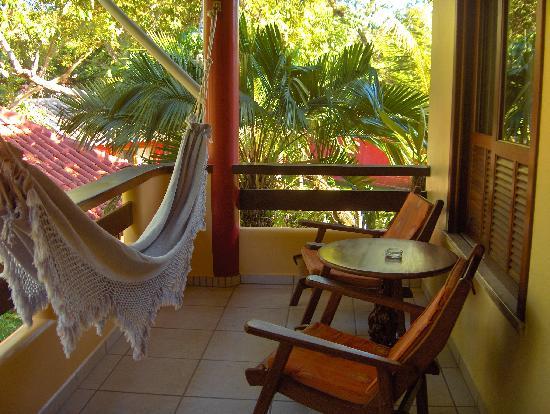 Canto d'Alvorada Hotel Pousada : Our balcony
