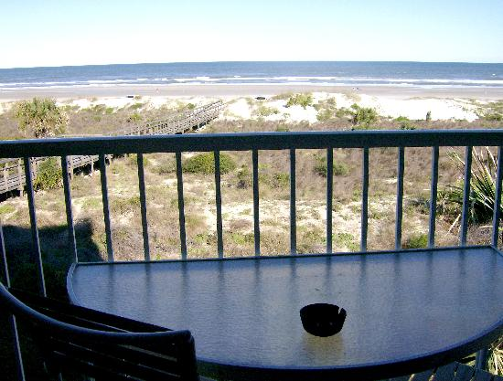 The Beach Club at St Augustine: View of Ocean from 2-bdrm 3rd floor
