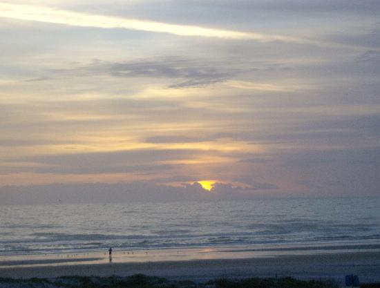 The Beach Club at St Augustine: Sunrise from balcony