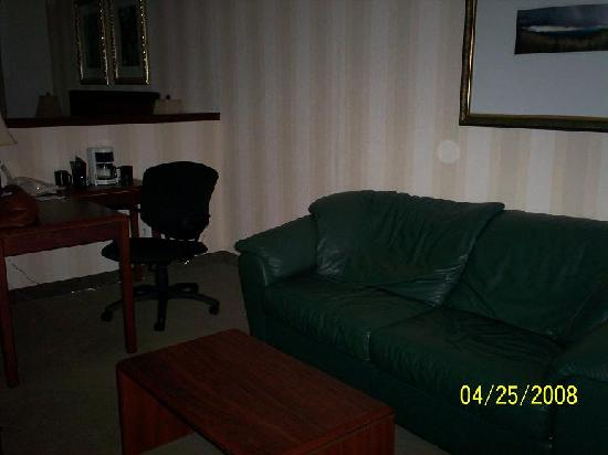DoubleTree by Hilton Hotel Vancouver, Washington: living room