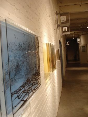 Bemis Center for Contemporary Arts : In the hallway