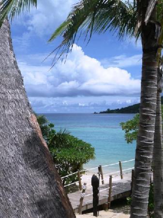 Likuliku Lagoon Resort : View from the restaurant