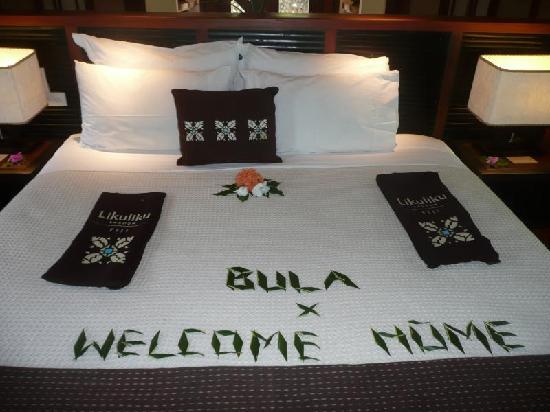 Likuliku Lagoon Resort: Welcome home!