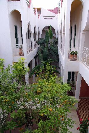 Oualidia, Marocco: patio