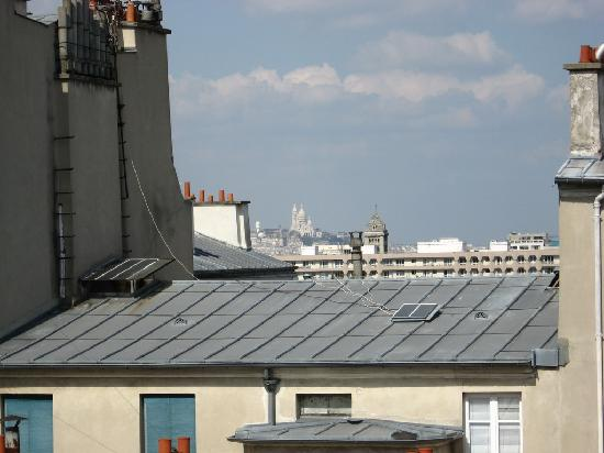 Hotel Montparnasse Daguerre: View from the room