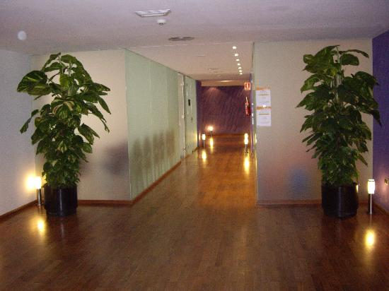 Servigroup Papa Luna: pasillo wellness centre