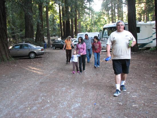 Big Sur Campground & Cabins: Family and Friends