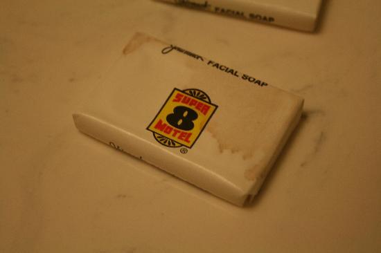 Super 8 Melbourne: Nasty soap bar - hello?!?!  Soap should be clean
