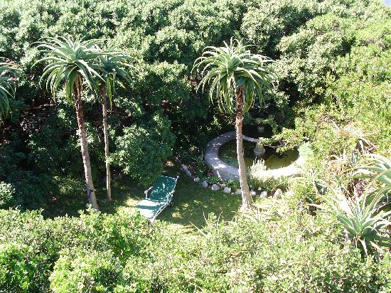 Kennedys Beach Villa: View over the gardens - all yours
