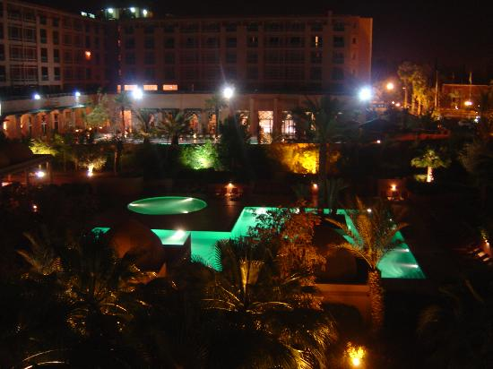 Balcony view at night picture of atlas medina spa for Balcony night view