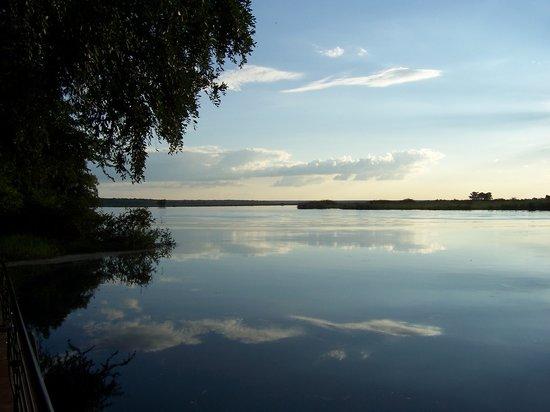 Kasane, Botswana: View from Hotel Dock