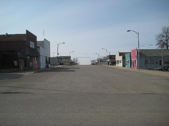 McClusky, ND: Main St.