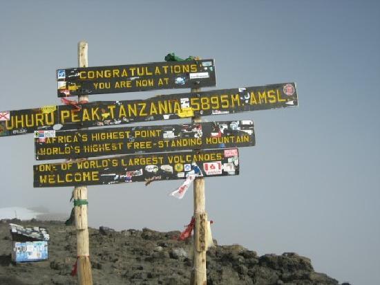 Kilimanjaro National Park, Tanzanie : Summit