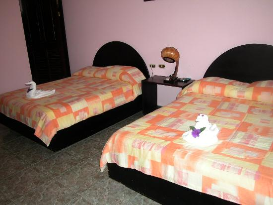 Hotel La Pradera: Inside our room