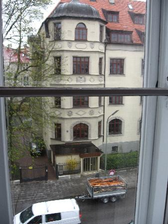 Hotel Uhland: The view from our window