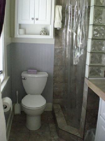 The Corner House: east bath, shower