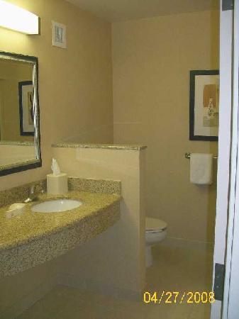 Courtyard Knoxville Airport Alcoa: Bathroom