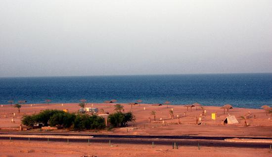 Aqaba, Jordania: view from diving center