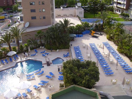 Servigroup Castilla: nice pool area