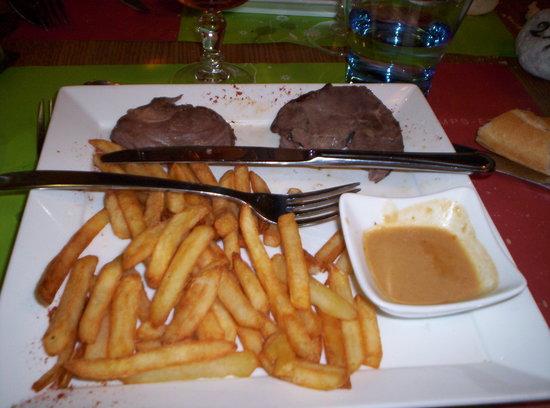 Restaurant Campanile Honfleur -  La Riviere Saint Sauveur : gigot ( sous vide )