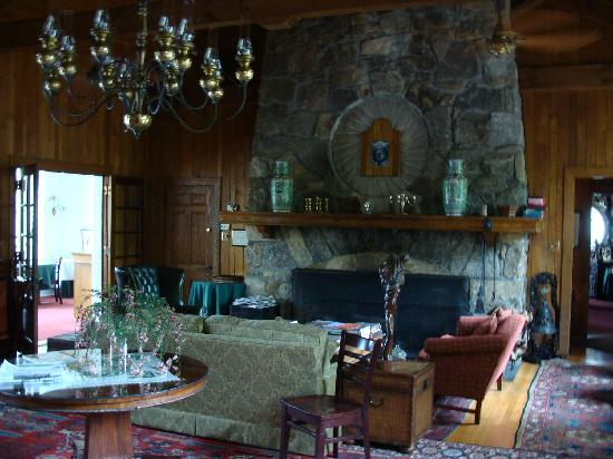 The Lodge on Lake Lure: Lounge Area