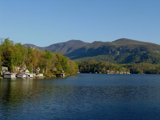 The Lodge on Lake Lure: The View