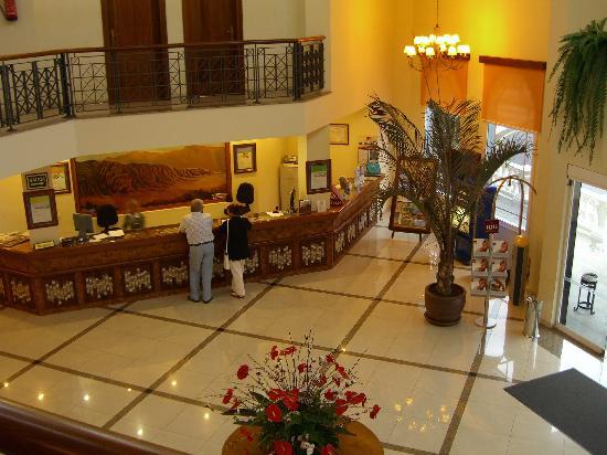 Hotel Reception Picture Of Hotel Riu Garoe Puerto De La