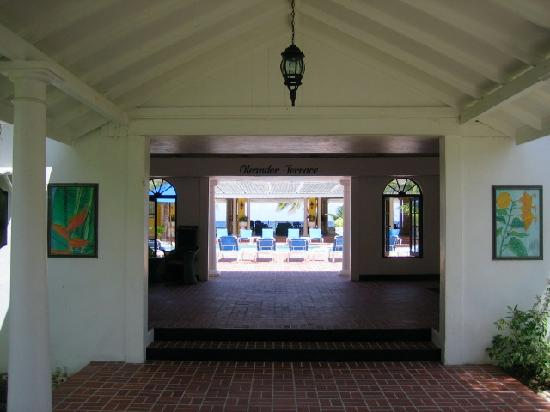 Half Moon : Foyer of Oleander Terrace.