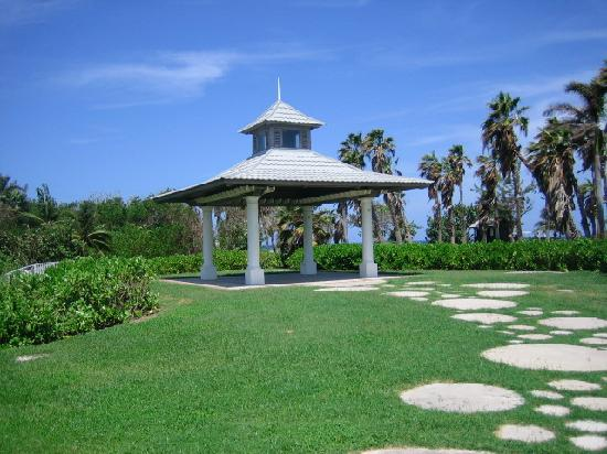 Half Moon: The Lily Pond Gazebo, yet another choice for a ceremony but too far from the ocean for us.