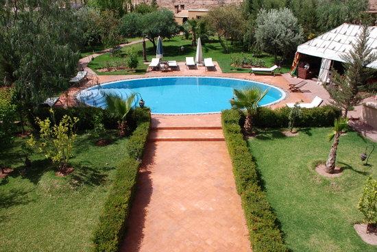 Dar Ilham: piscine riad