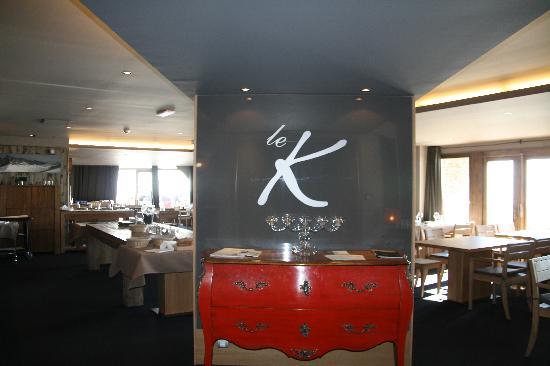 Kaya Chalet Hotel: Restaurant le K