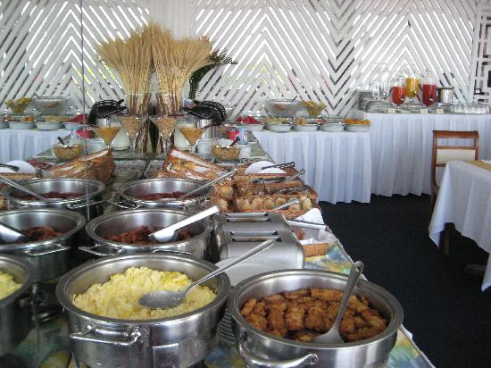 Praia Ipanema Hotel : Breakfast buffet - fabulous and included with the price of our room