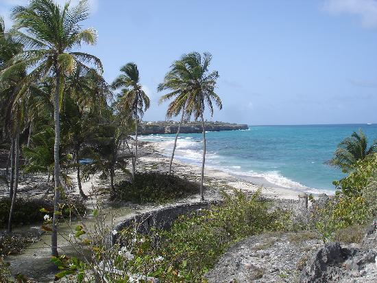 Barbados: Beach at Sam Lord's castle