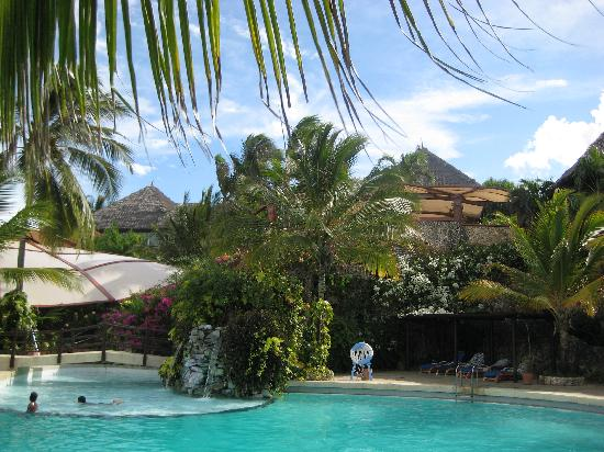 Leopard Beach Resort & Spa: view of the pool and lounge area