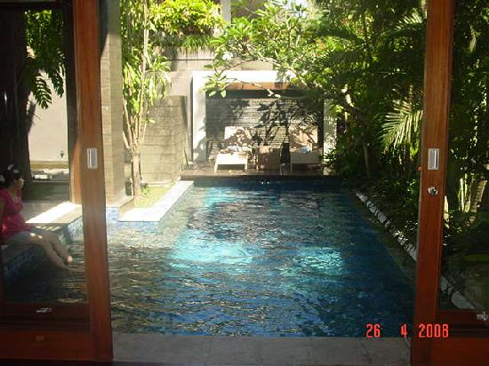 Le Jardin Villas, Seminyak: Private swimming pool
