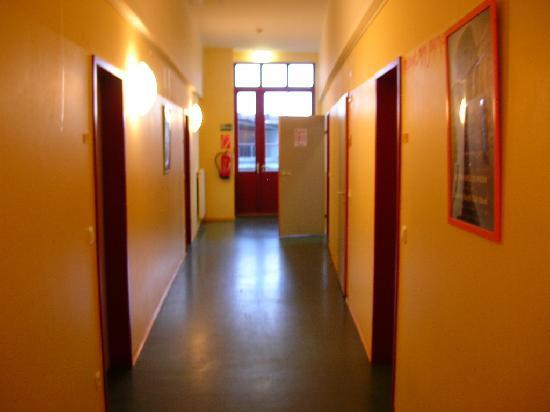 Bregenz Youth Hostel: room 114 with door open,