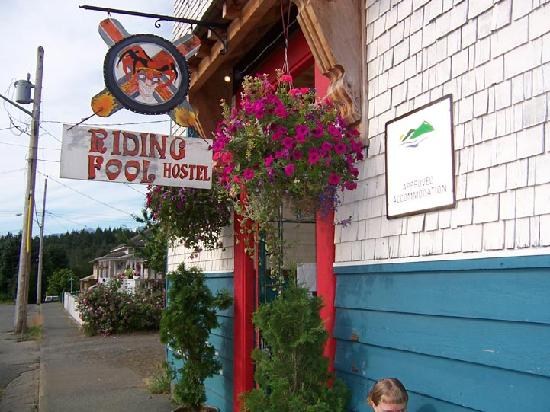 The Riding Fool Hostel: entry