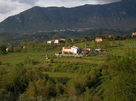 Campania, Italia: Dugenta from the farm