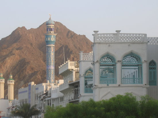 Maskat, Oman: Old house in Muscat