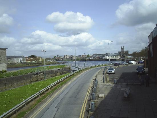 Acacia : The River Shannon and Limerick Castle.