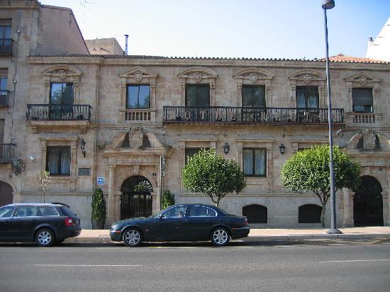 Hotel Rector: facciata