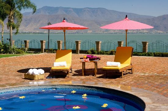 Jocotepec, Mexico: La Quinta Lake view