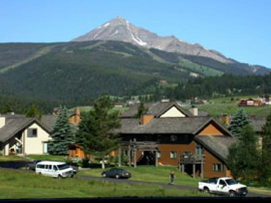 this is where we stayed in Big Sky