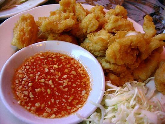 Royal Thai: golden squid